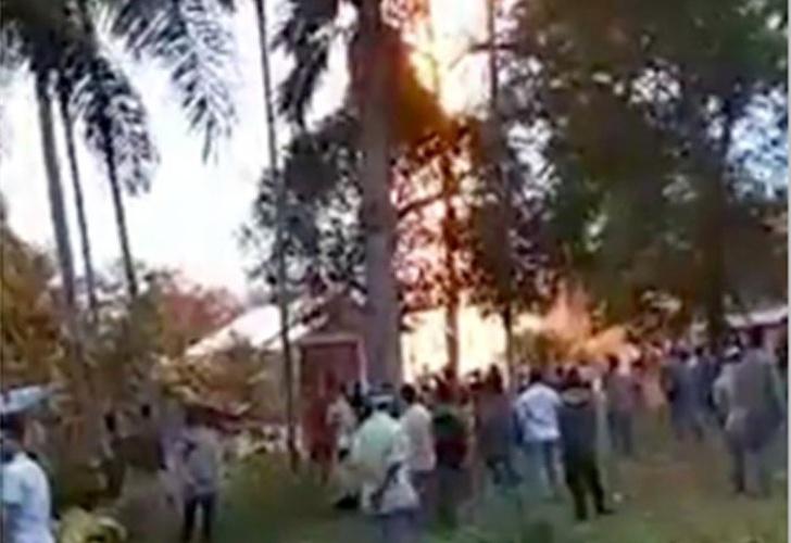 Indonesia: incendio en pozo de petróleo deja 15 muertos