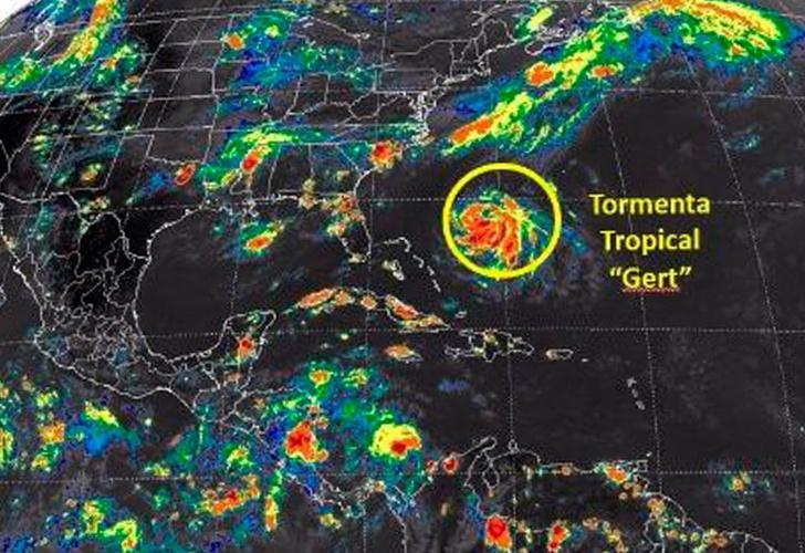 Gert se convierte en huracán en el Atlántico