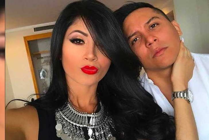 edwin luna, accidente de transito, suegra, becky colombani, foto viral,