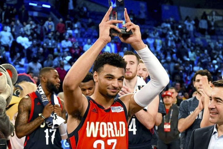 jamal, murray, kristaps, porzingis, frank, kaminsky, all star, nba, alex, abrines,-Jamal Murray realizó un festival en New Orleans