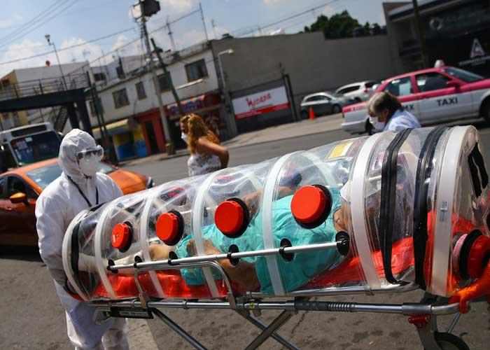 México registra 708 nuevos fallecidos por Covid-19 en un día