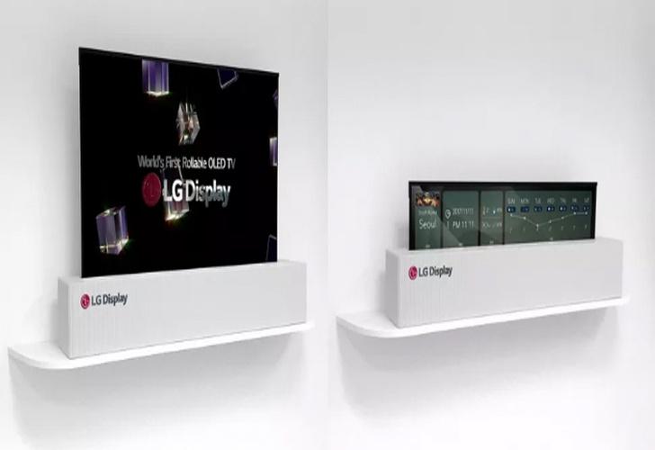 CES 2018: Así es la nueva pantalla 4K enrollable de LG