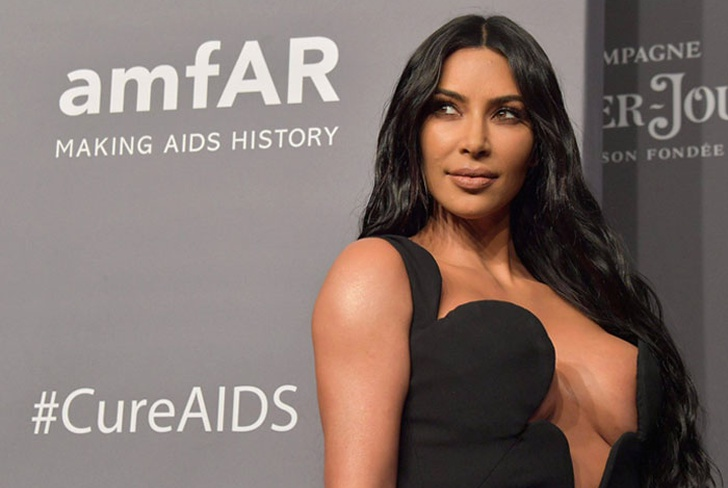 a3c4a8115 Así presume su diminuta cintura Kim Kardashian (FOTO)