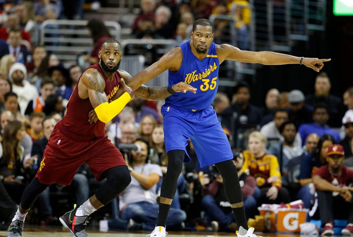 kevin, durant, golden, state, warriors, stephen, curry, cavaliers, cleveland, baloncesto,-Durant, nuevo rostro en 3er capítulo de final Cavs-Warriors