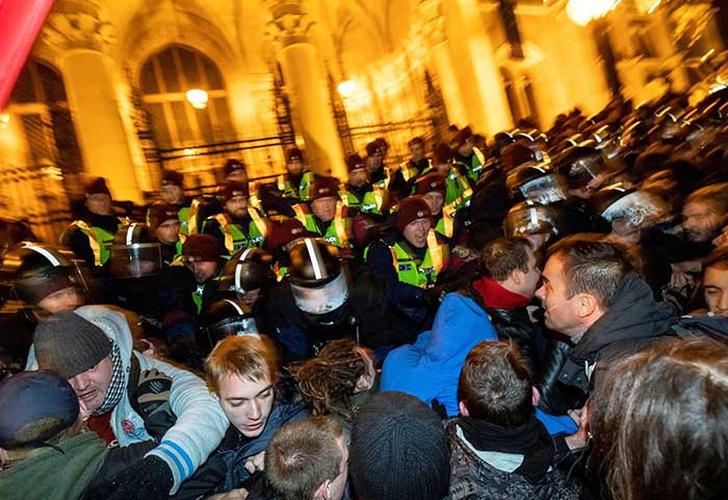 Tercera jornada de protestas en Budapest por polémica ley laboral