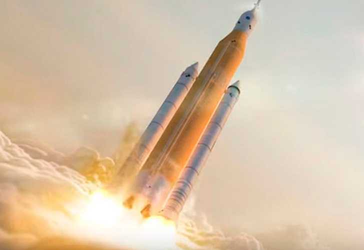 nasa, cohete, creacion, sls 1,space x,-La NASA construye su propio 'Big Fucking Rocket' para competir con SpaceX