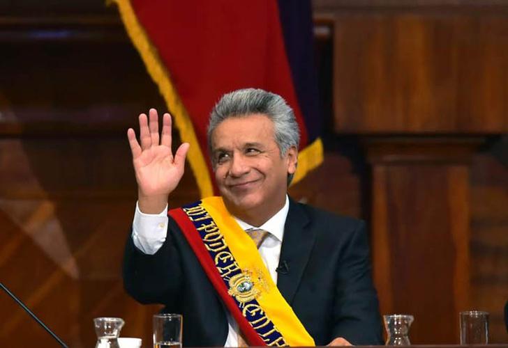 Lenín Moreno toma posesión como nuevo presidente de Ecuador