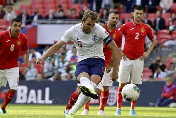 bulgaria, harry, kane, inglaterra, gol, goleada, sterling, eurocopa, eliminatoria, wembley,