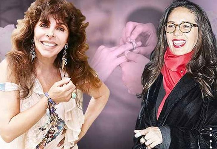 Verónica Castro confirma si Yolanda Andrade le pidió matrimonio o no