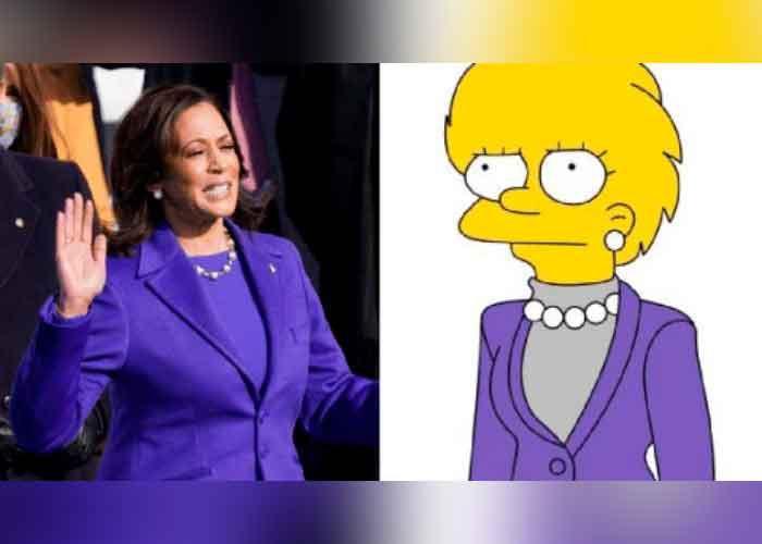Increible! Los Simpson predicen a Kamala Harris como vicepresidente