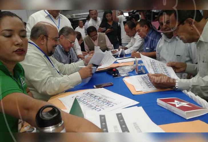Verifican boletas que se usarán en elecciones municipales de Nicaragua