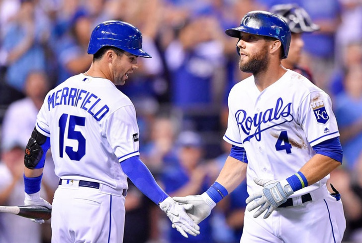jonron, record, mlb, las mayores, beisbol, alex, gordon, kansas, city, reales, royals,-Alex Gordon fija récord de HR en MLB al conectar el 5.694