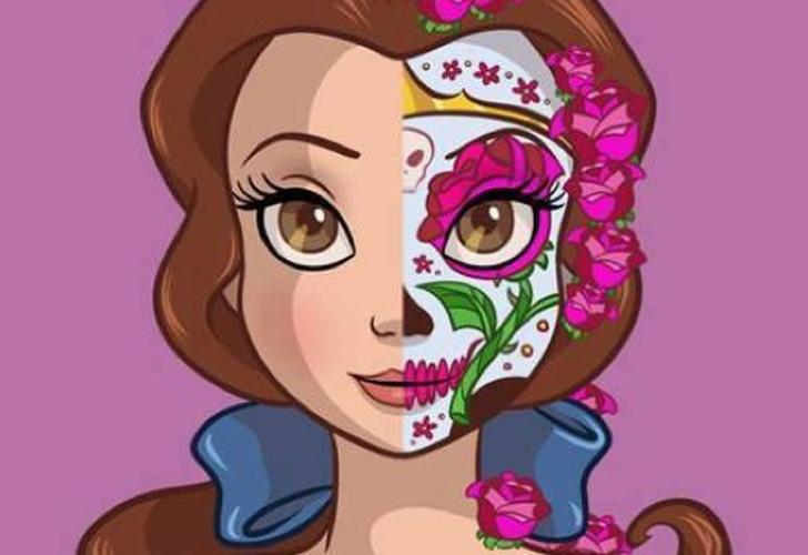 Ve A Las Princesas De Disney Como Catrinas Mexicanas