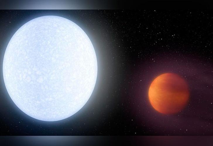 Un grupo de astrónomos descubrió el planeta más caliente del universo