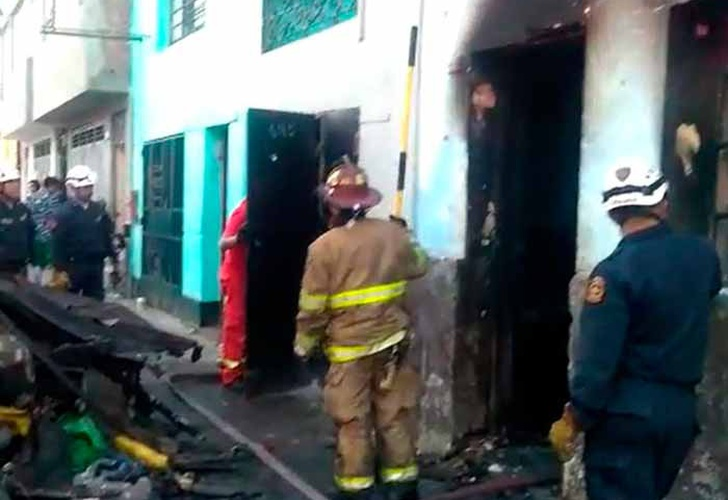 Incendio en una vivienda deja cuatro fallecidos — La Victoria