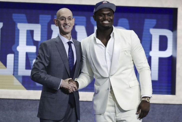zion williamson, duke, universidad, pelicans, draft,