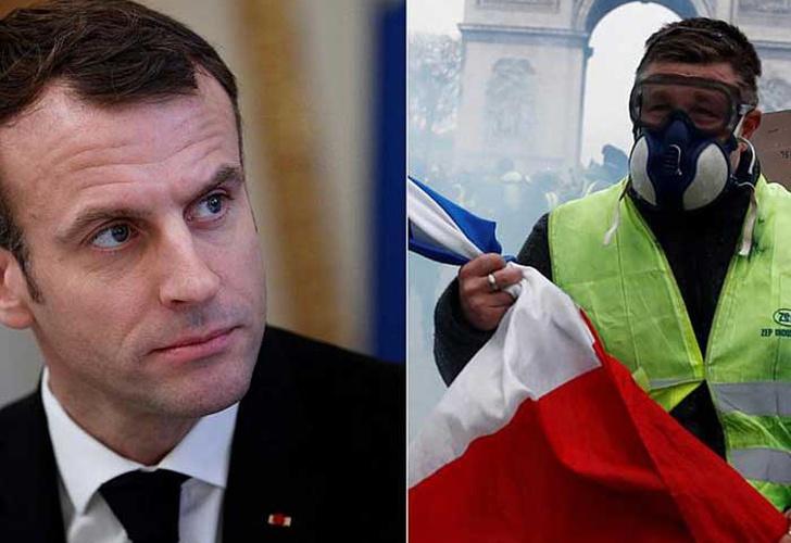 Las protestas de los 'chalecos amarillos' paraliza París