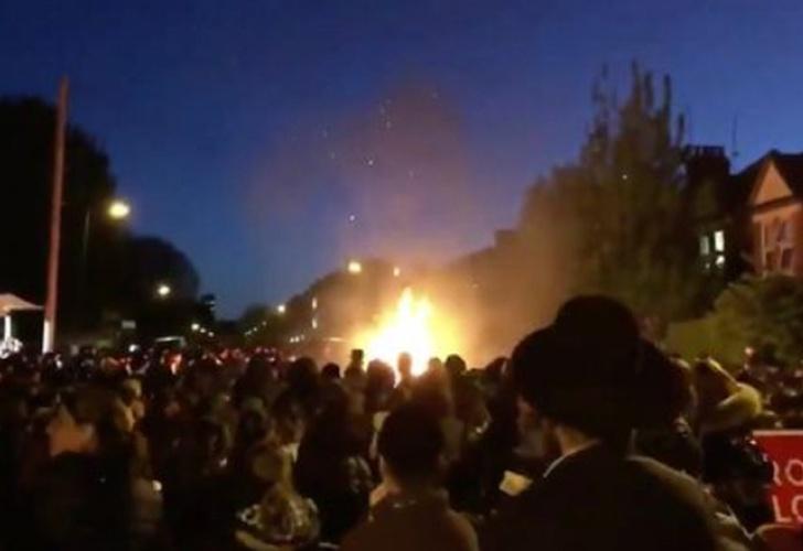 Explosión en festival judío en Londres deja 30 heridos