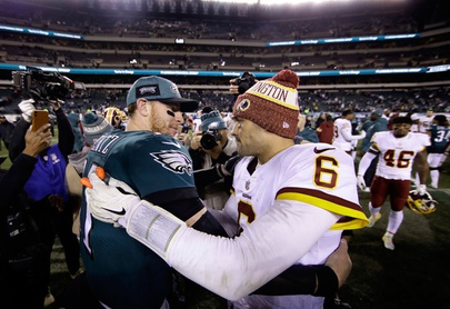 Eagles vencen a Redskins y a Mark Sánchez