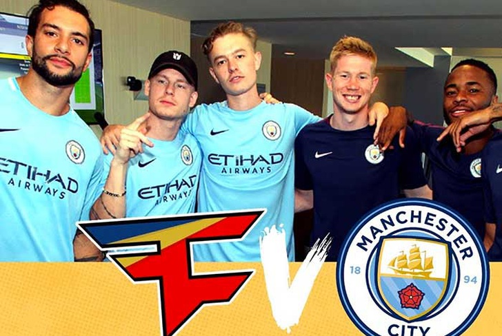 manchester, city, football, group, esport, faze clan, lee, trink, guardiola, premier,