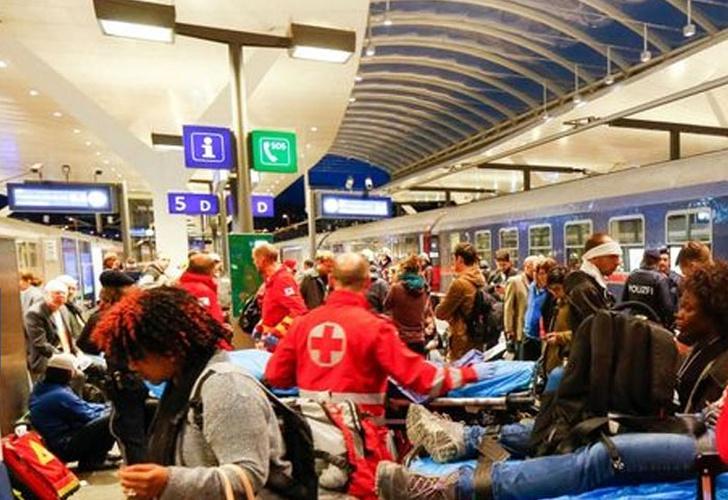 Choque de trenes deja más de 30 heridos — Austria