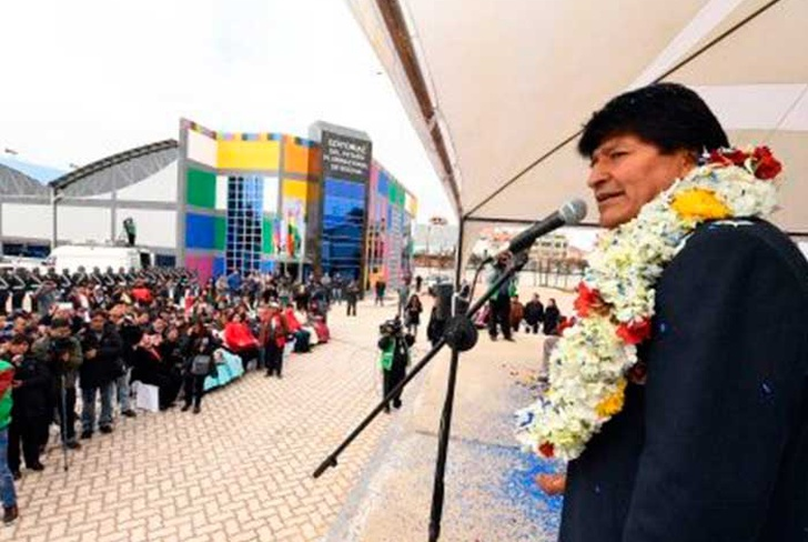inauguran, editorial, bolivia, estado, plurinacion,