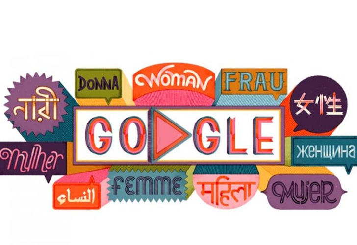 Google conmemora el Día Internacional de la Mujer con doodle