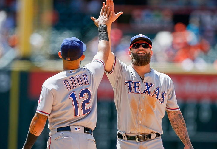rougned, odor, rangers, texas, marineros, seattle, angeles, dodgers, padres, san diego, beisbol, mlb,-Odor sentencia la victoria de Texas sobre Seattle