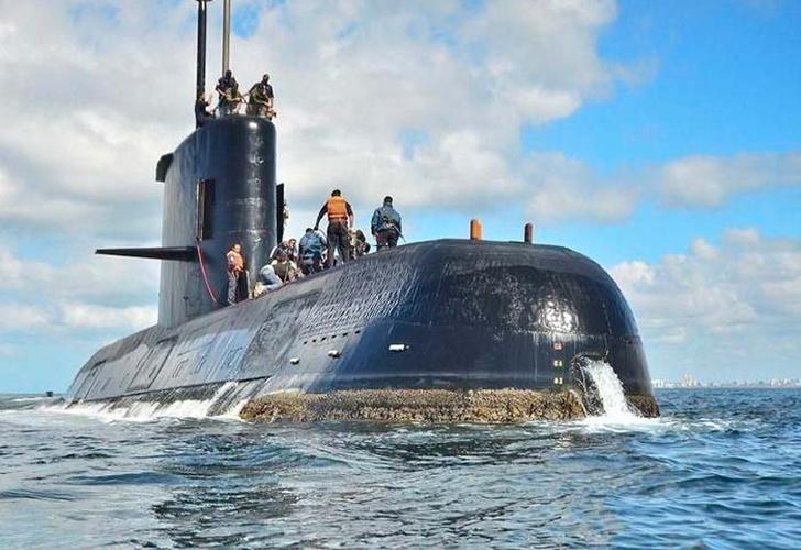 Familiares de tripulantes del ARA San Juan repudiaron a la Armada