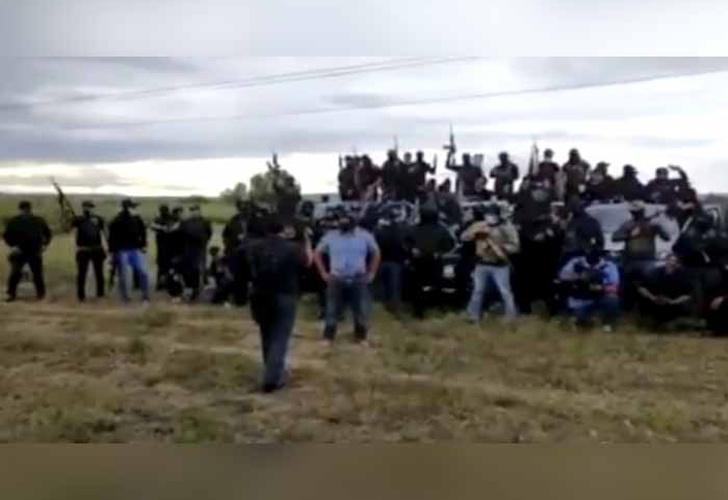 Aparece en Guanajuato supuesto nuevo grupo delictivo