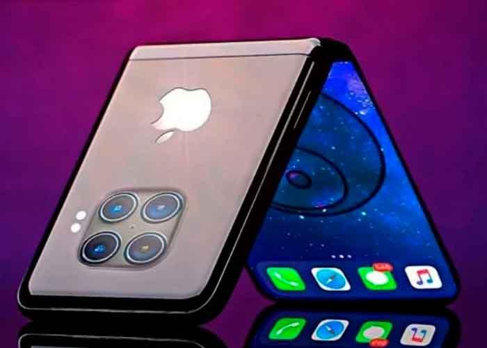 Apple ya estaría trabajando en el primer iPhone con pantalla plegable