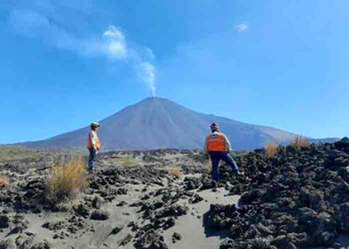 guatemala, volcan pacaya, erupcion, catastrofes,