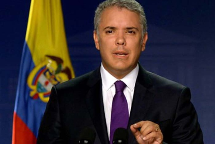 presidente, colombia, ivan duque, protestas,