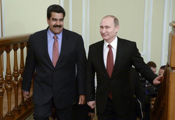 Maduro viaja desde Caracas hacia Moscú para reunirse con Vladimir Putin #4Dic