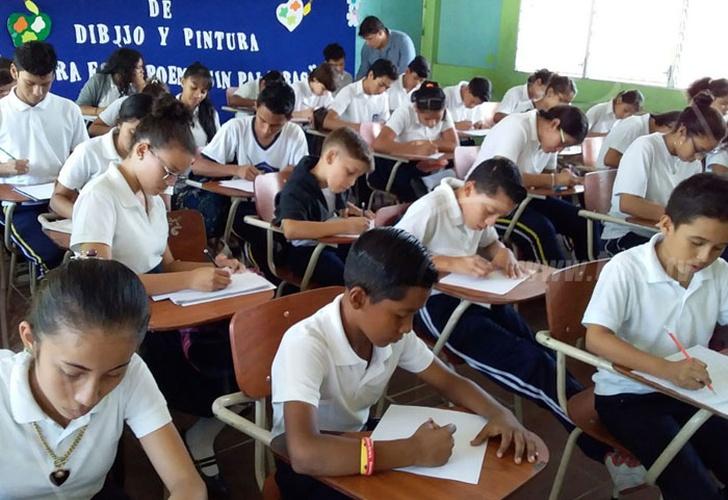 nicaragua, ministerio de educacion, dibujo, clases, arte, estudiante,