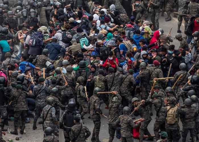 guatemala, caravana de inmigrantes, inmigrantes indocumentados, honduras,