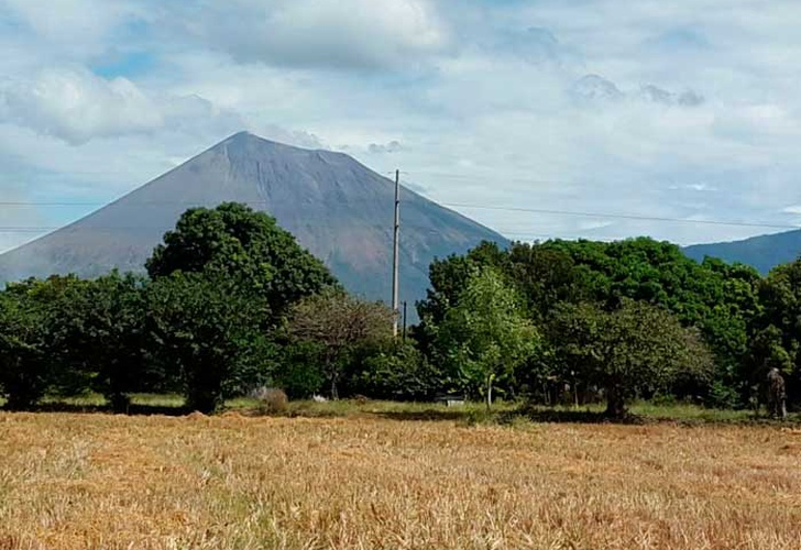 INETER reporta temblores en el Volcán San Cristóbal