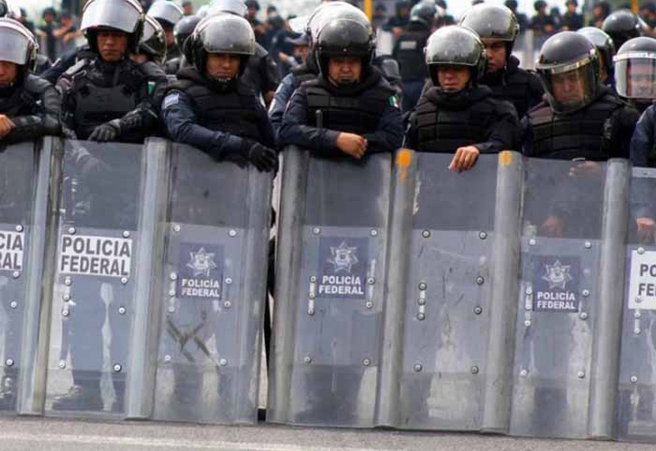 policias federales, frontera, guatemala,