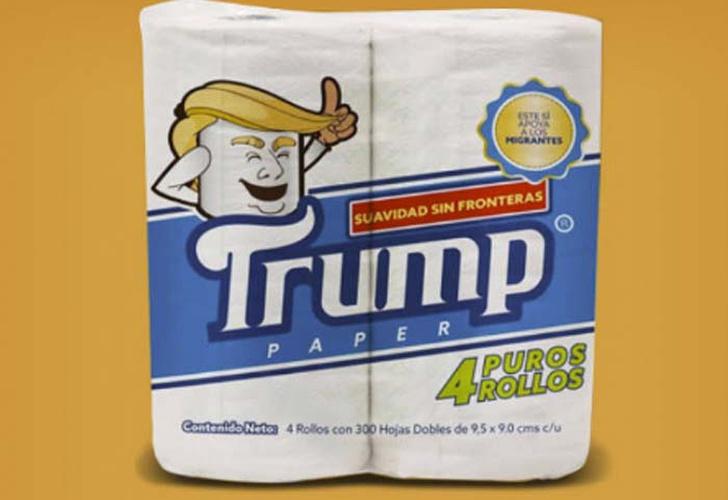 Sale a la venta un papel higiénico marca