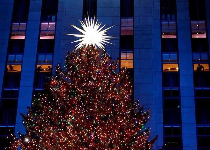 arbol de navidad, nueva york, estados unidos, rockefeller center, abeto canadiense, gran manzana, pandemia,
