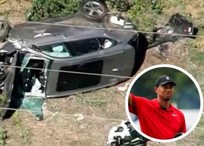 Tiger Woods, golfista, accidente automovilístico, extensa cirugía,