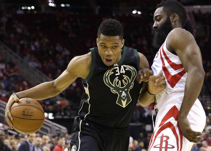 None-Bucks doblegan a Rockets