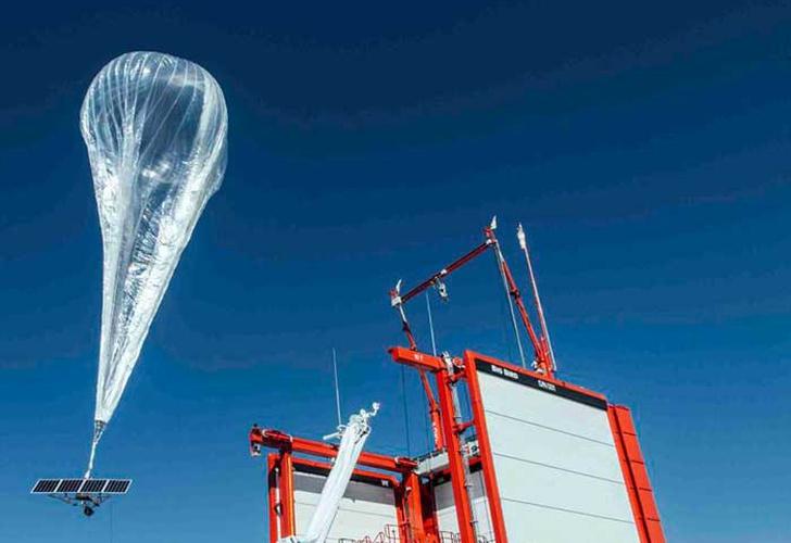 Google da internet a Puerto Rico con globos estratosféricos