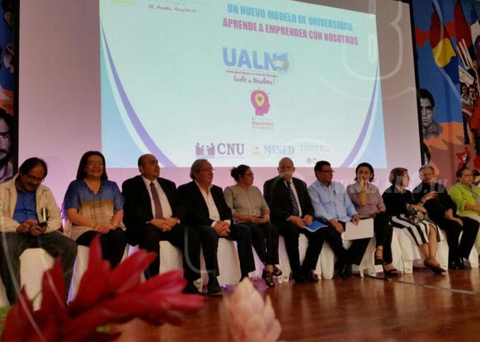nicaragua, universidad abierta en linea, ualn, matriculas, educacion,