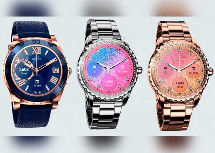 relojes inteligentes, guess, android wear,