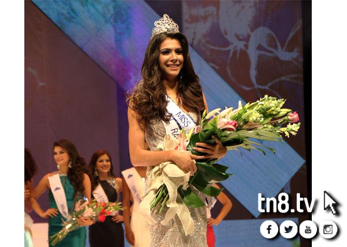 Berenice Quezada Crowned Miss Nicaragua 2017: Así Reaccionó Berenice Quezada Tras Ganar Miss Nicaragua
