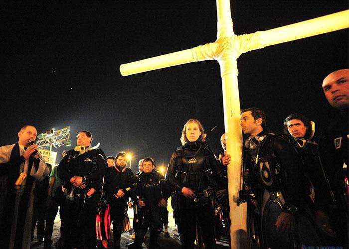 Vía Crucis Submarino, una experiencia de fe que impacta
