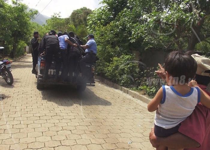 nicaragua, madriz, drogas, menores, detenidos,