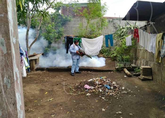 nicaragua, managua, fumigacion, ministerio de salud, barrio georgino andrade,