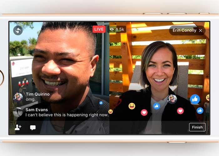 Facebook Live permitirá tener invitados en sus transmisiones en vivo